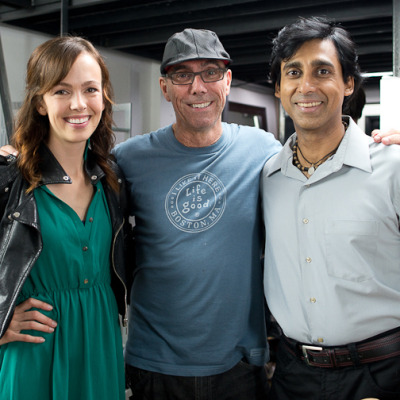 The Director, Brittany and Anand